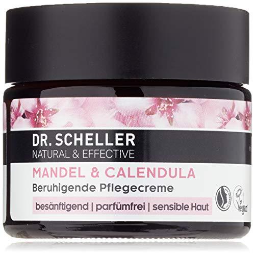 Dr. Scheller Mandel & Calendula - Beruhigende Pflegecreme für sensible Haut, pafümfrei, vegan, 50...