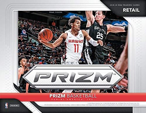 2018-19 Panini Prizm Basketball Blaster Box (6 Packs/4 Cards: 1 Autograph Or Memorabilia, 6 Inserts)
