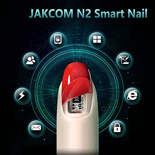 Jakcom N2 Smart Nail New Multi-Funzione Elettronica Intelligente Accessori non Necessita di Ricarica NfC Smart Indossabile Dispositivi Gadget