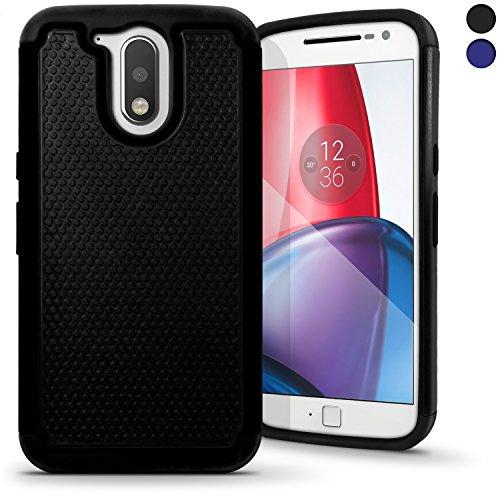 iGadgitz U5391 Funda Compatible con teléfono móvil Negro -(Funda, Motorola, Moto G...