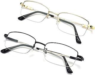 Comfortable Far and Near Dual-use Reading Glasses Progressive Reading Glasses Zoom Anti- Hyperopic Mirror Female Beautiful (Color : Black, Size : +1.50)