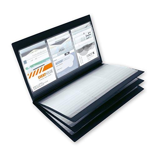 Sigel VZ175 - Tarjetero para tarjetas de visita de plástico