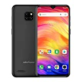 Ulefone Note 7 Unlocked Cell Phones 3G, Unlocked Smartphones Dual Sim Android 9.0 6.1'' 1GB+16GB 8MP Three Camera 3500 Mah Battery Face ID GPS, US Version,No Sprint&Verizon Black
