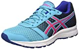ASICS Damen Patriot 8 Laufschuhe, Grau (Silver Grey/Flash Coral/Black 9606), 43.5 EU
