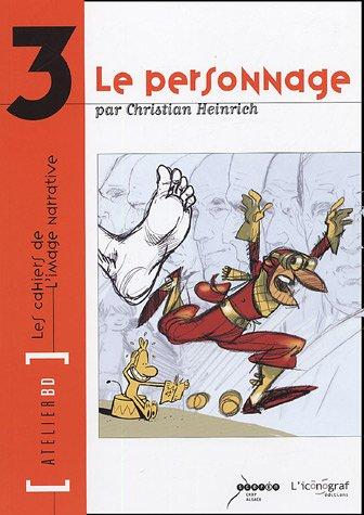 Le Personnage: Atelier BD n°3