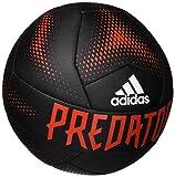 adidas Predator Training Ball, Black/Active Red/White, 5