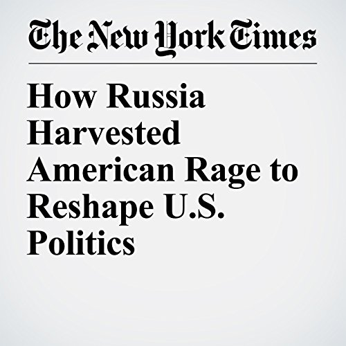 How Russia Harvested American Rage to Reshape U.S. Politics audiobook cover art