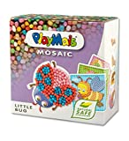 PlayMais Mosaic Kit de Loisirs créatifs Little Bug pour Fille et garçon à partir de 3 Ans | 2300+ pièces & 6 modèles de mosaïques (Insectes, Abeilles etc.) | activités manuelles pour Enfants