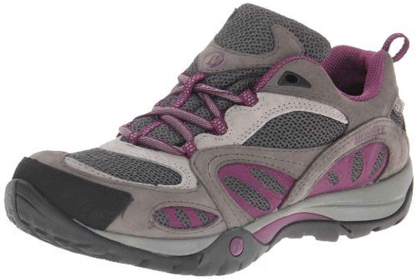 博物館眉をひそめる殺すMerrell Women's Azura Waterproof Shoes Castle Rock/Purple 7 M US [並行輸入品]