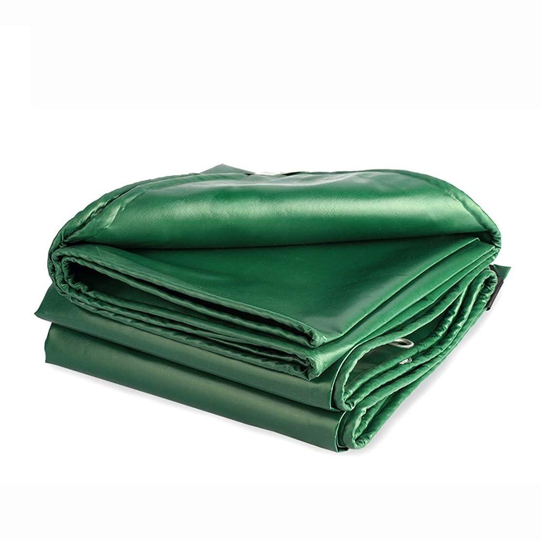 アナロジー静かな付属品HPLL 多目的防水シート グリーンパッド入りターポリン、防水日焼け止めオックスフォード布屋外カバーレインキャンバス0.4 Mm、480 G / M2、防錆保護リング付き 防水シートのプラスチック布,防雨布 (Size : 3m×3m)
