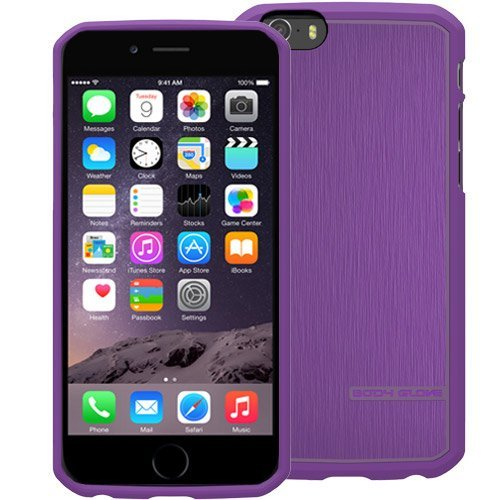 Body Glove Satin Case for iPhone 6 4.7-Inch - Retail Packaging - Grape