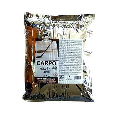 Lorito Carpo Teppichreinigungspulver, Teppichreiniger, Teppichpulver 5kg für 100-150qm