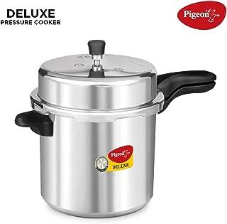 Pigeon Deluxe Aluminium Pressure Cooker, 12 Litres