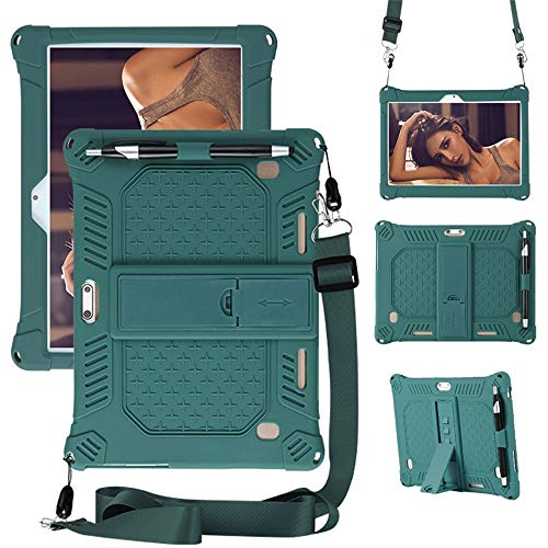 Laptop Tablette Ständer,Notebook ständer 10.1 Zoll,Kompatibel mit Dragon Touch K10/TYD-107/108/HOPLAZA/Lectrus/YOTOPT/ACEPAD A121 A12X A140 A101/Padgene/Victbing (Grün)