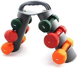 MANGGUO 3 Tier Gym Halterrek Stand Opvouwbaar Voor Multilevel Handgewicht Halterhouder Voor Halters Houdt Opslag Robuuste ...