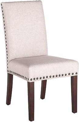 Amazon Com Roundhill Furniture Biony Tan Fabric Dining