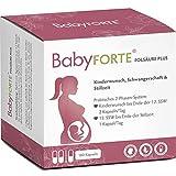 BabyFORTE® FolsäurePlus - Vegan - Schwangerschaftsvitamine - Kinderwunschvitamine - 17 Nährstoffe - 180 Kapseln + Laborgeprüft