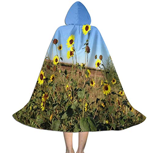 REDCAR Halloween Hooded Cape Cloak Tumblr Sunflower Amazing Party Vampires Cosplay for Kids/Teen - http://coolthings.us