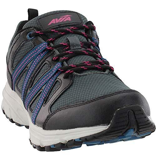 Avia Avi-Vertex Trail Running Shoe, Black/Pink 10 M US