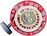Poweka GX160 Arranque de Retroceso Compatible con Motoazada GX120 4HP GX160 5.5HP GX200 6.5HP GX168 Generador Motor Reemplace Número de Pieza 28400-ZE1-003ZF 28400-ZH8-013YA