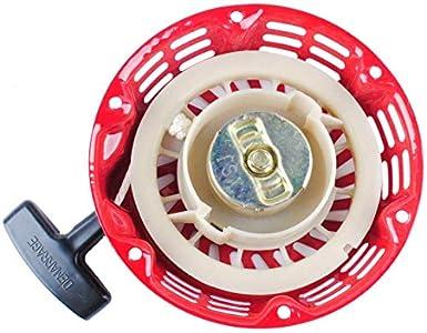 Poweka GX160 Arranque de Retroceso para Motoazada Honda GX120 4HP GX160 5.5HP GX200 6.5HP Generador Motor Reemplace Número de Pieza 28400-ZE1-003ZF 28400-ZH8-013YA