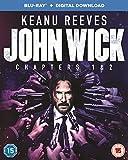 John Wick 1 & 2 (2 Blu-Ray) [Edizione: Regno Unito] [Reino Unido] [Blu-ray]