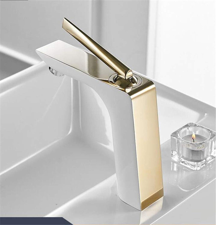 Waschtischarmaturen Moderne Wei Chrom Messing Waschbecken Wasserhahn Einzigen Griff Loch Wc Bad Mischer Wasserhahn Kran YLS837-11