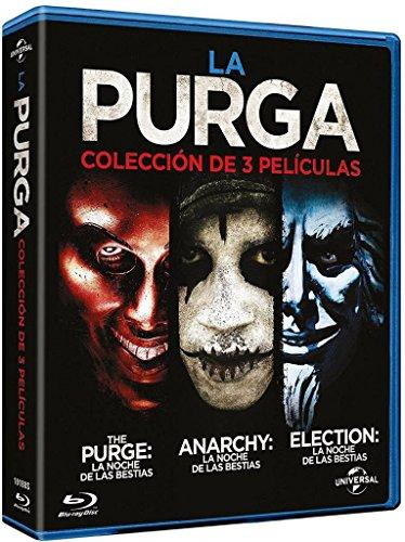 Pack 3 Películas: La Purga (BD) Blu-ray