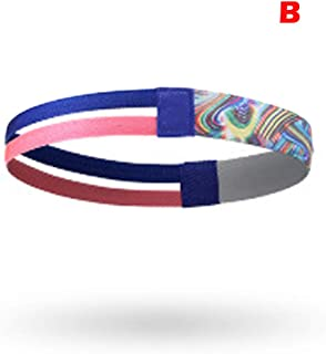 Sports Safety,Outdoor Running Sports Hair Band Hair Ring Elastic Non-Slip Elastic Headband Outdoor Running Fashion Sports Hair Band Hair Band Elastic Sports Hair Band Non-Slip Elastic Hair Band B