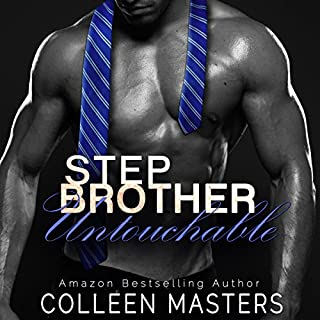 Stepbrother Untouchable audiobook cover art