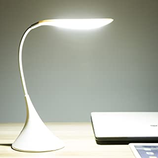 LED Desk Lamp 3W Touch Control Dimmable Eye Caring Table Lamp, Battery Operated 3 Level Brightness Lamp, Eye-Caring Desk Lamp for Bedroom Study Office, Care about Your Lovely Kids' Eyes in Their Lives