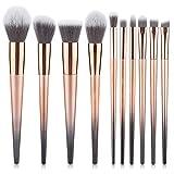 Degradado De Color Del Cepillo Del Maquillaje De 10 PC Para Principiantes Fibras Sintéticas O Artificiales Ojo Cepillo De Sombra De Rubor Contorno De La Belleza,2