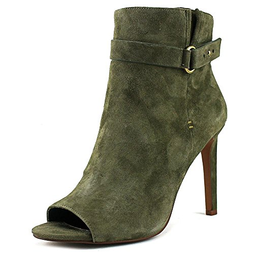 BCBGeneration Womens Cassia Suede Open Toe Mid-Calf Fashion, Green, Size 8.5 Fhc