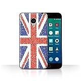 Stuff4 Phone Case for Meizu MX4 Pro Glitter Pattern Effect