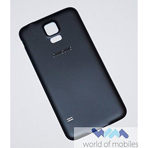 Original Samsung Akkudeckel black / schwarz für Samsung G903F Galaxy S5 NEO (Akkufachdeckel, Batterieabdeckung, Rückseite, Back-Cover) - GH98-37898A