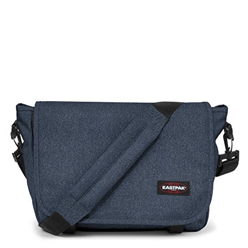 Eastpak Jr Umhängetasche, 33 cm, 11.5 L, Blau (Double Denim)