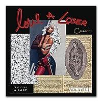 Suuyar G-Eazyラップヒップホップスターシンガーミュージックアルバムカバーラッパーウォールアートポスターとプリントリビングルーム用キャンバスにプリント-20X20インチX1フレームレス
