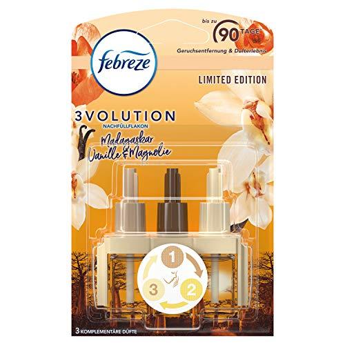 Febreze 3Volution Duftstecker (20 ml) Vanille, Nachfüller, Raumduft und Lufterfrischer