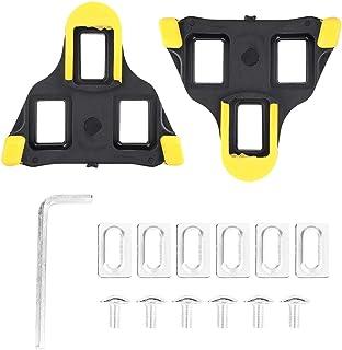 Rehomy Tacos de Pedal de Bicicleta para Ciclismo de Carretera compatibles con Zapatillas del Sistema Shimano SPD-SL