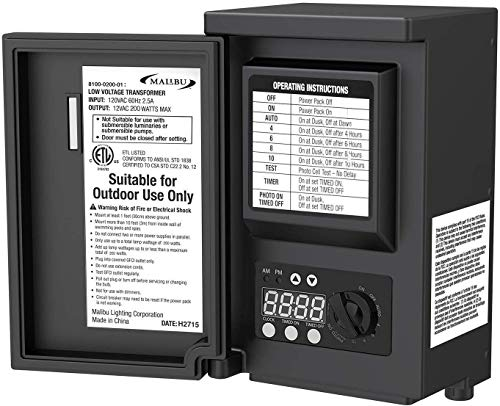 Malibu LED 200 Watt Low Voltage Transformer