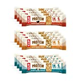Clif Whey Protein - Gluten Free Snack Bars - Variety Pack - (1.98 Ounce Complete Protein Bars, 12 Count) (Packaging & Assortment)