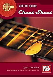 Mel Bay's Gig Savers: Rhythm Guitar Cheat Sheet