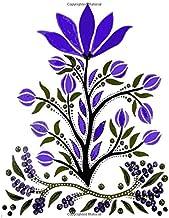Slavic Folk Art Notebook 19: Blank Line Composition Writing College Ruled Journal