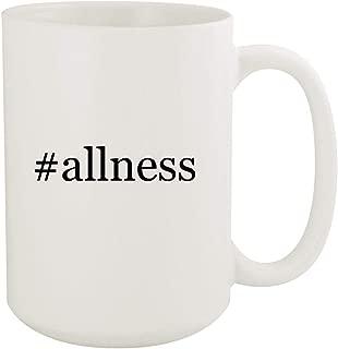 #allness - 15oz Hashtag White Ceramic Coffee Mug