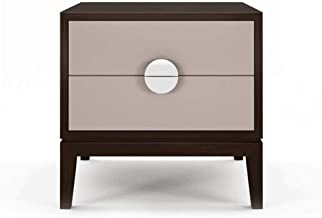 Nightstand with Drawers - Bedside Furniture & Night Stand End Table Dresser for Home, Bedroom Accessories, Office