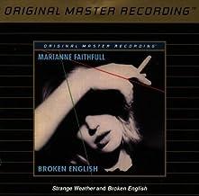 Broken English / Strange Weather by Marianne Faithfull (1995-08-22)