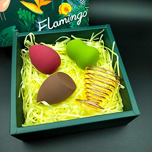 DQWKDJIBI Super Soft Beauty Egg Makeup Sponge Gourd Water Drop Beveled Puff Set