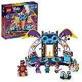 LEGO Trolls - World Tour Concerto a Volcano Rock City, Ricrea le Scene del Film Trolls con 3 Minifigure di Poppy, Branch e Regina Barb, Set di Costruzioni per Bambini +6 Anni, 41254