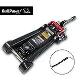 BullPower BP600K Wagenheber 2,25T Low Profile 80mm - 365mm 2250kg mit LED für Racing-Sportwagen, Rennsport