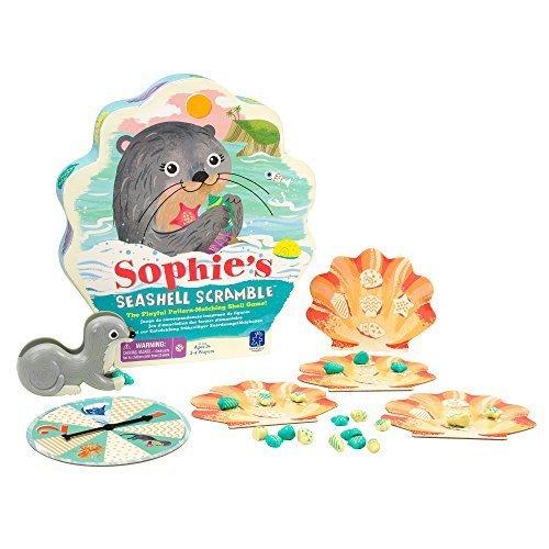 Educational Insights Sophies Seashell Scramble Game